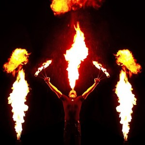 Feuershow Fire And Ice