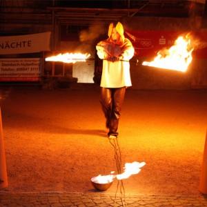 Feuershow Robin Hood Mittelaltershow