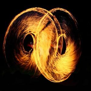 Feuerseiljonglage