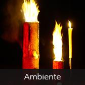 Feuershows Ambiente
