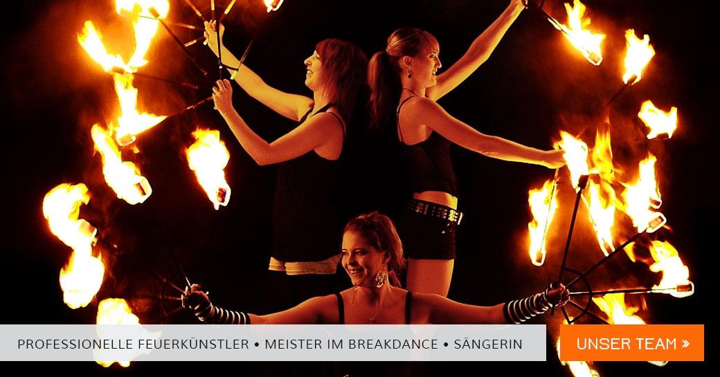 Feuerundbewegung Feuerkuenstler